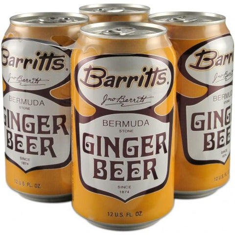 Barritts Ginger Beer 4pk Can