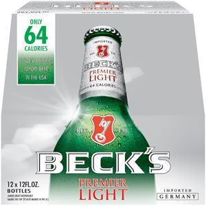 Becks Light 12Pk Bottles