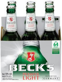 Becks Light 6 Pk Bottles