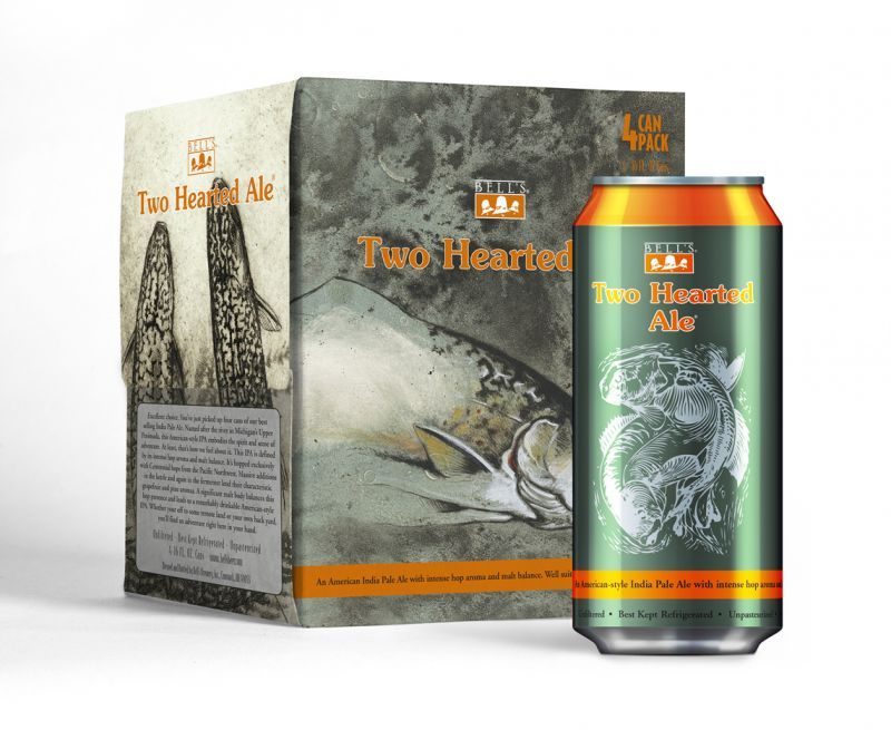 Bells Two Hearted Ale - 4pk / 16oz cans