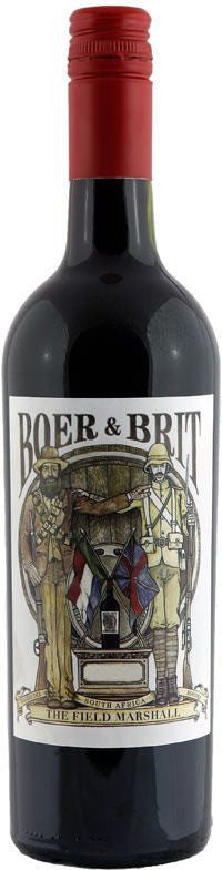 Boer And Brit The Field Marshal Red Blend