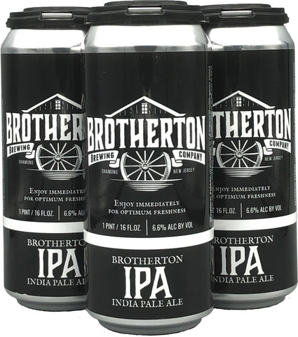 Brotherton IPA 4pk Can