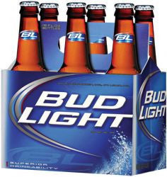 Bud Light 12 Oz 6 Pk Bottles