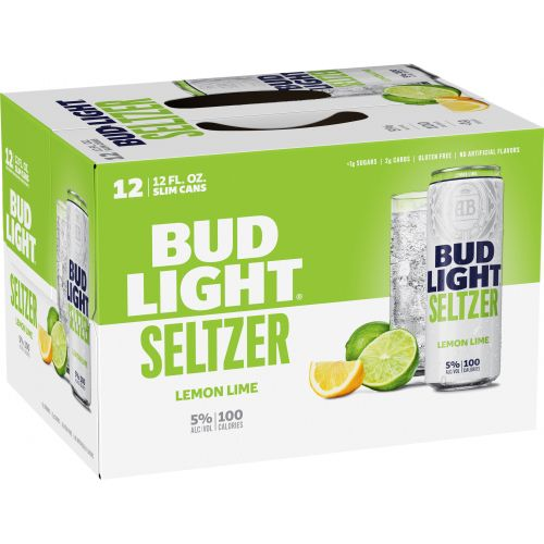 Bud Light Seltzer Lemon Lime 12pk Cans