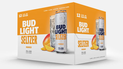 Bud Light Seltzer Mango 12pk Cans