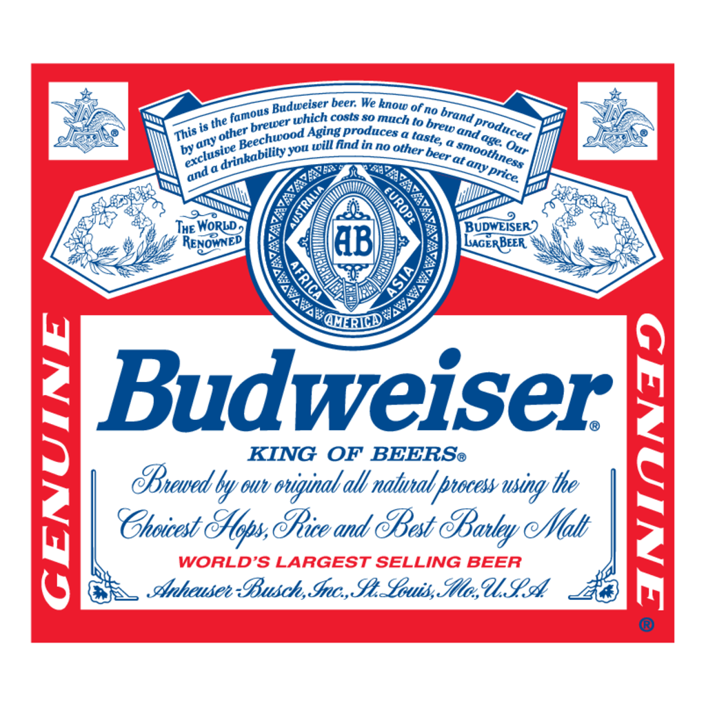 Budweiser 8 Oz 12Pk Can