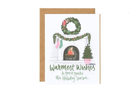 Warmest Wishes Holiday Card by 1Canoe2