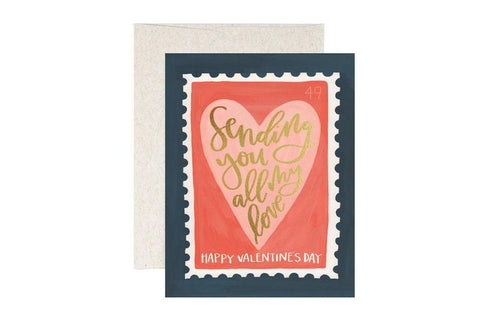 Valentine Stamp by 1Canoe2