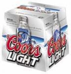 Coors Light 16 Oz Aluminum Bottles 9Pk