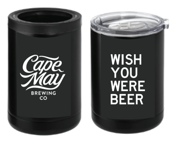 "Cape May Brewing ""Wish You Were Beer"" Insulator"
