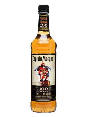 Captain Morgan Spiced 100 Proof Rum