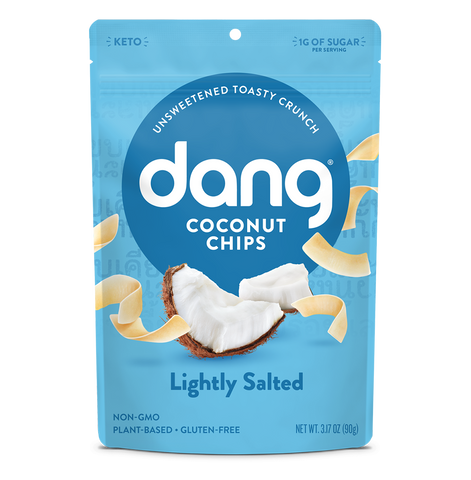 Dang Lightly Salted Coconut Chips (Unsweetened)