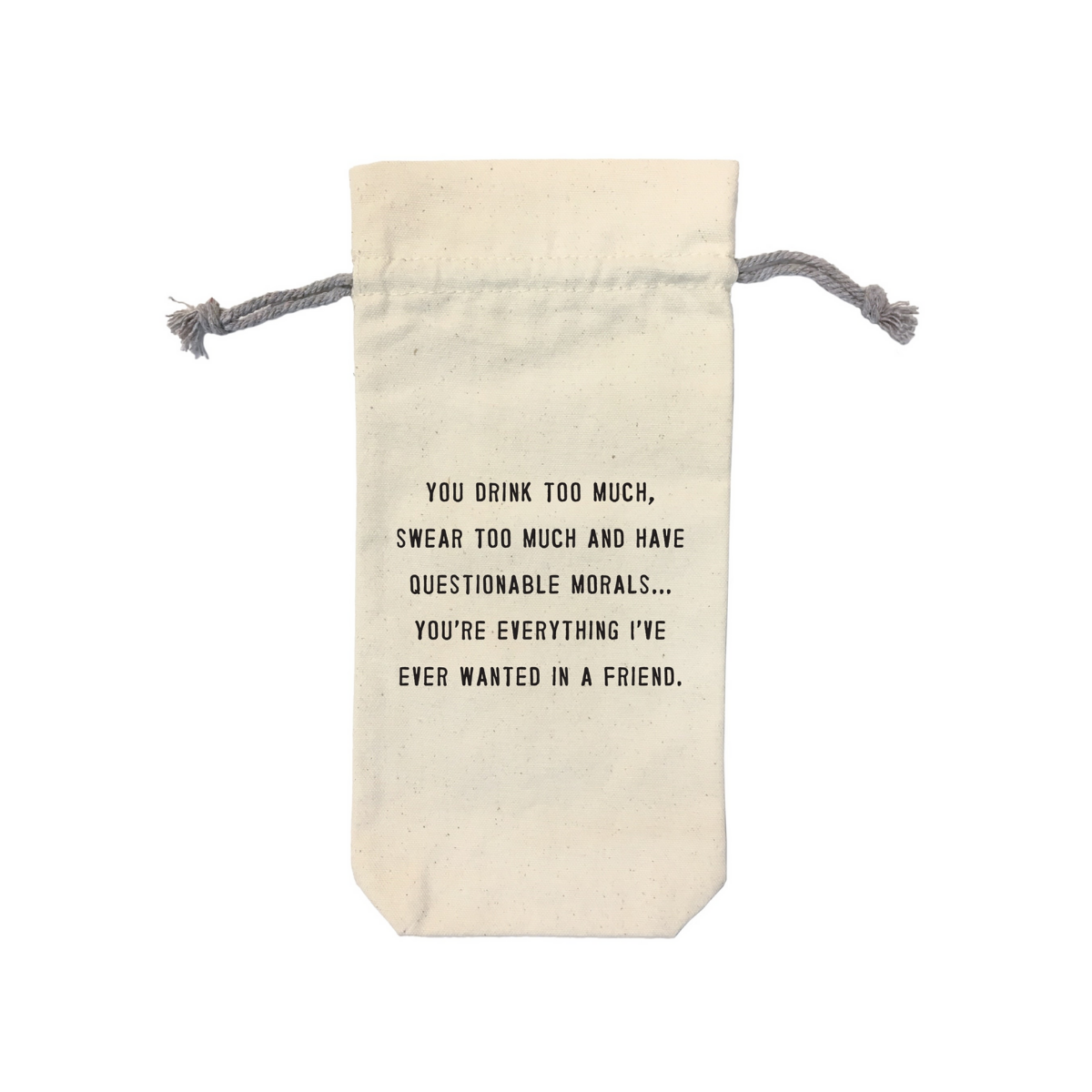 Sugarboo & Co. Wine Bag - All I Wanted In a Friend
