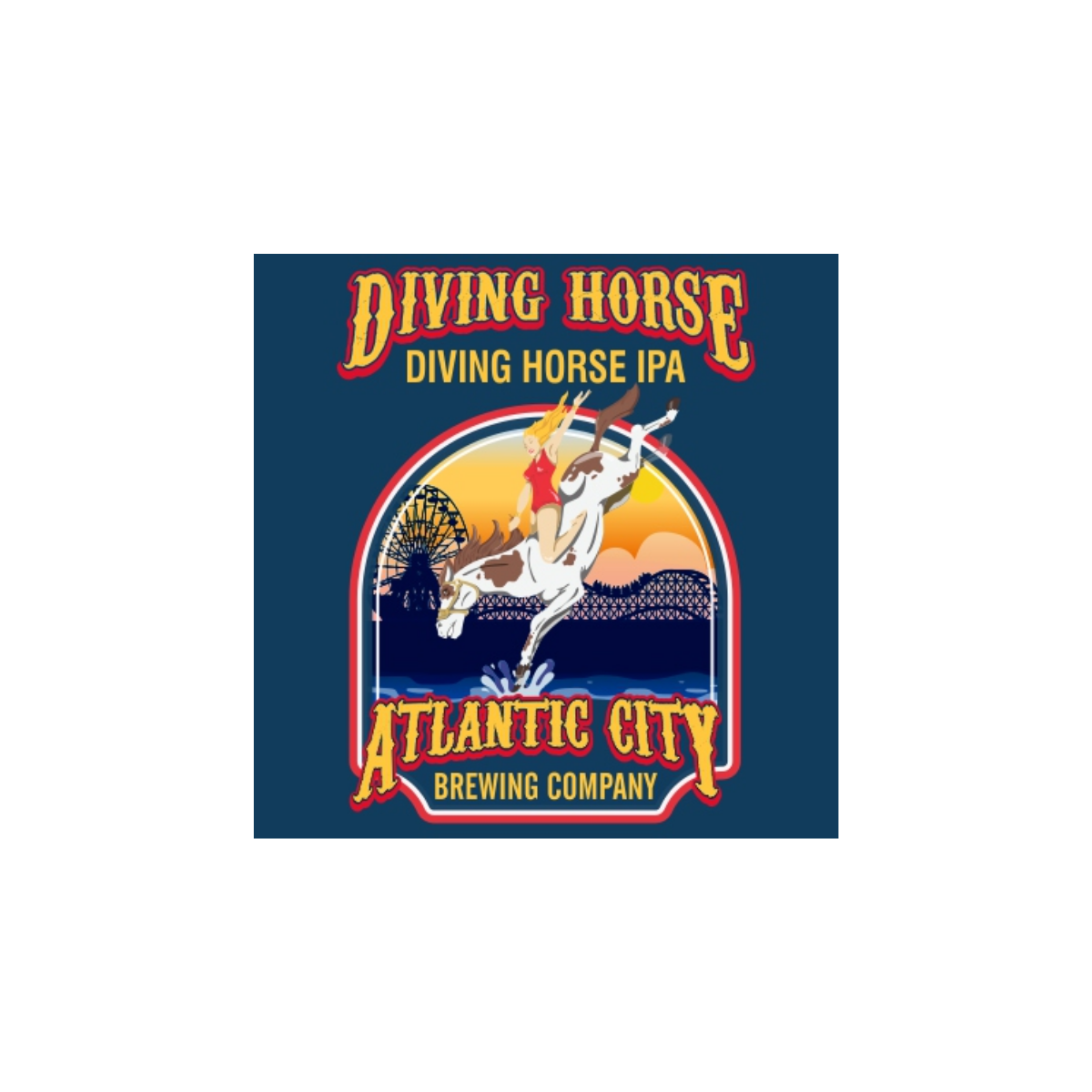 Atlantic City Brewing Co. Diving Horse IPA 6pk Cans