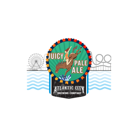 Atlantic City Brewing Company Diving Horse Pale Ale 4pk 16oz Cans