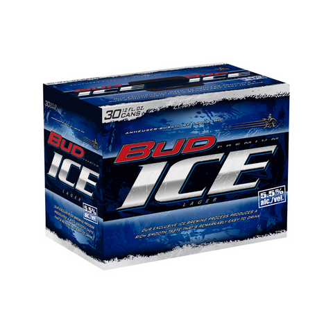 Bud Ice 30 Pack