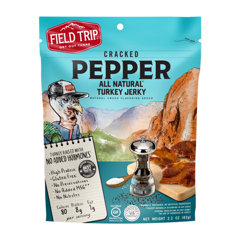 Field Trip Turkey Jerky - Cracked Pepper