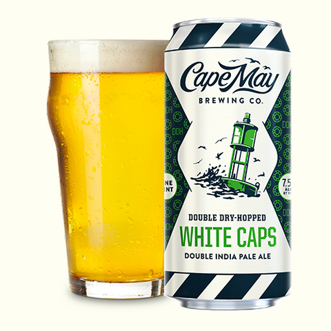 Cape May Brewing Double Dry Hopped White Caps 4pk Can 16oz