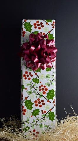 Wine Gift Box in Berry Swirl