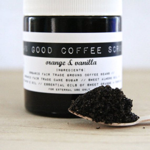 Damn Good Coffee Scrub Orange Vanilla