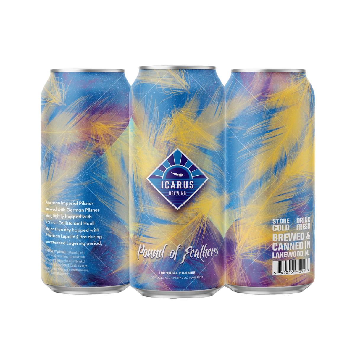 Icarus Pound of Feathers 4PK Cans