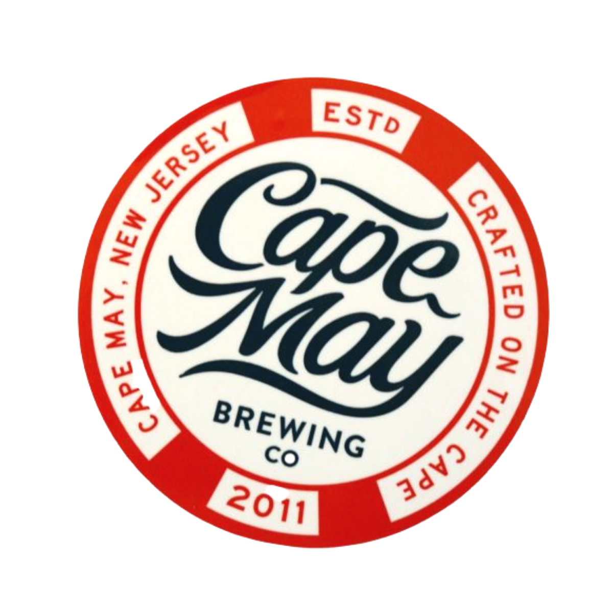 Cape May Brewing Tacker Sign