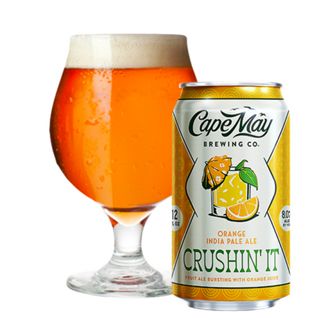 Cape May Brewing Crushin' It Orange IPA 6PK Cans