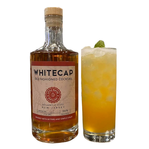 Little Water Distillery Whitecap Old Fashioned Cocktail