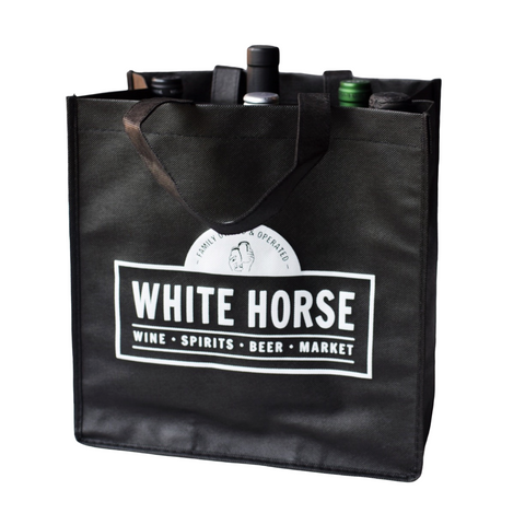 White Horse 6-Bottle Wine Tote