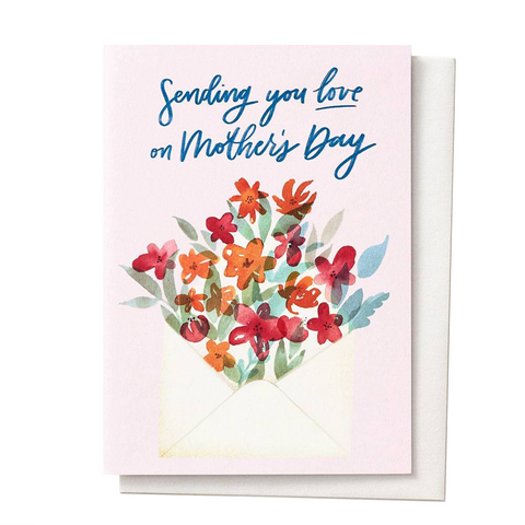 Sending Love Mother's Day Card