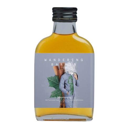 Wandering Barman BOOMERANG Burnt Maple Old Fashioned