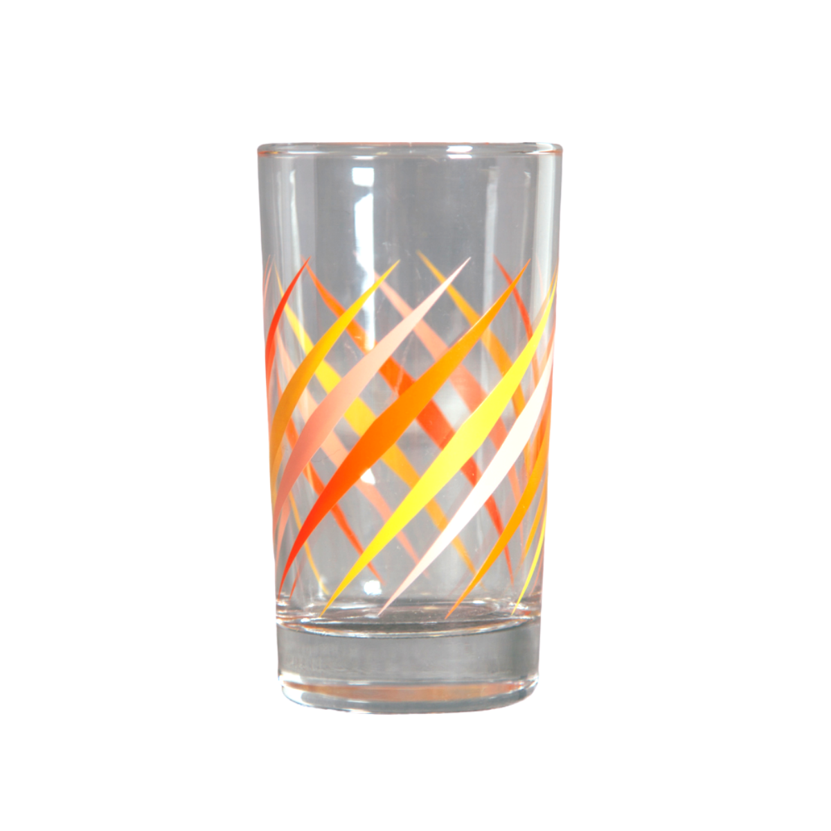 Fishs Eddy Party Glass, Orange
