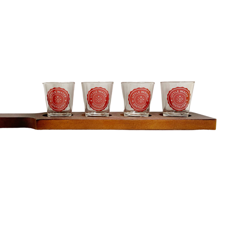 Little Water Distillery Shot Glass Paddle