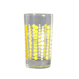 Fishs Eddy Party Glass, Yellow