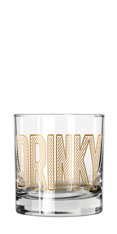 EASY TIGER DRINKY LOWBALL GLASS