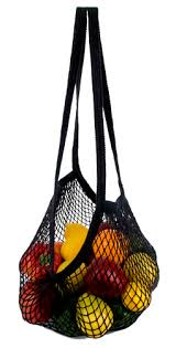 Eco Bags Natural String Long Handle
