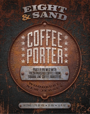 Eight and Sand Coffee Porter 4pk Can