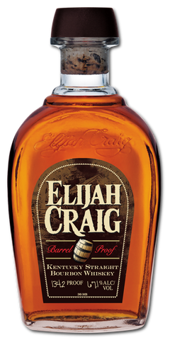 Elijah Craig  12yr Barrel Proof Bourbon Whiskey