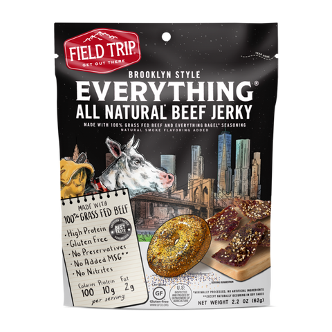 Field Trip Beef Jerky - Everything Bagel