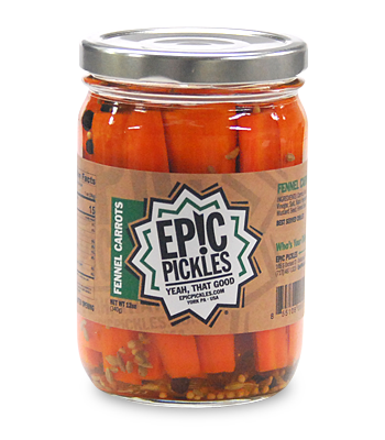 Epic Pickles Fennel Carrots