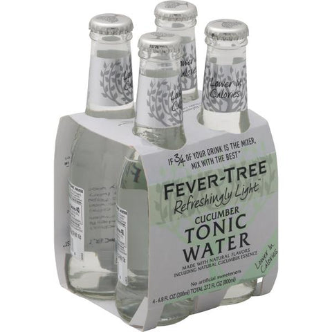 Fever Tree Cucumber Tonic Water 4pk