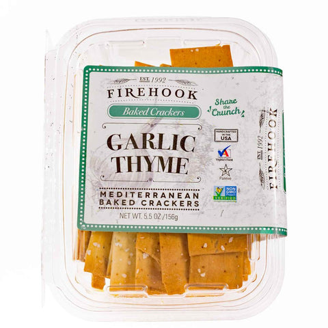Firehook Crackers, Garlic Thyme