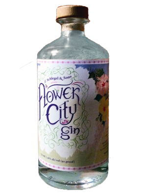 Honeoye Falls Distillery Flower City Gin