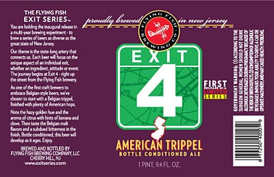 Flying Fish Exit 4 American Trippel 6 Pk