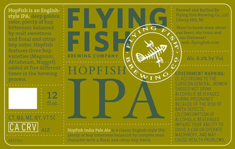 Flying Fish Hopfish Ipa 6Pk