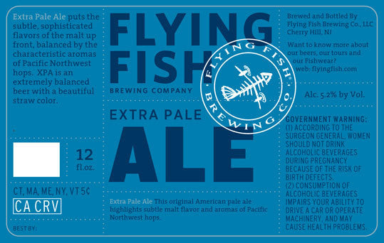 Flying Fish Xtra Pale Ale 6Pk
