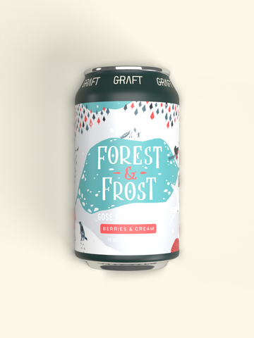 Graft Cider Seasonal 4pk Cans - Forest and Frost