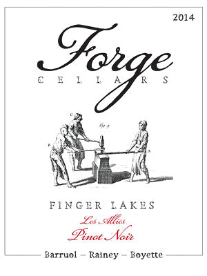 Forge Cellars Pinot Noir Les Allies