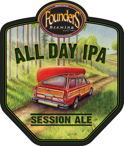 Keg 1/4 Founders All Day Ipa