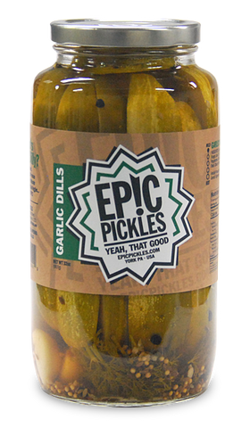 Epic Pickles Garlic Dills